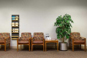 plant hospital room