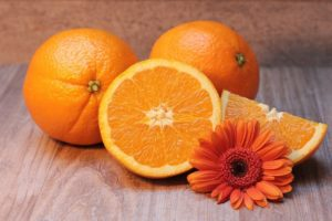 Oranges antibiotics