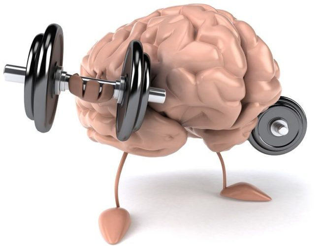 Build muscle strength using your mind