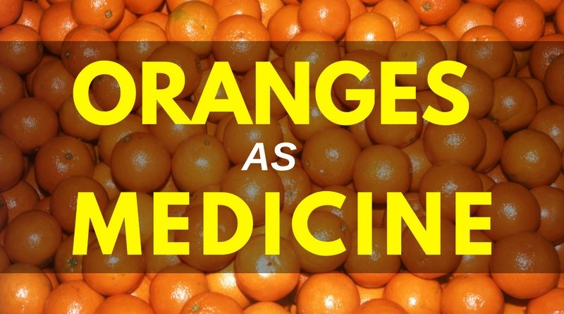 Oranges as Medicine