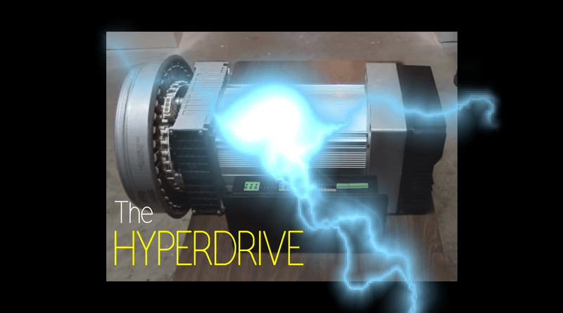 The Hyperdrive: Free and Natural Energy by Canadian Inventor