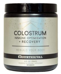 colostrum powder grass-fed