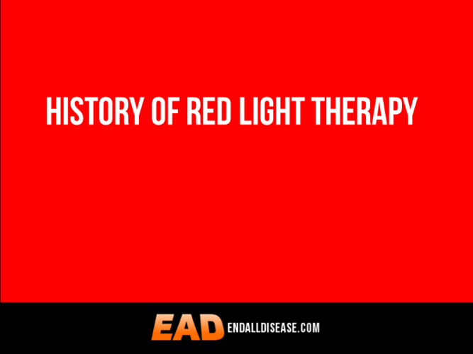 History of red light therapy