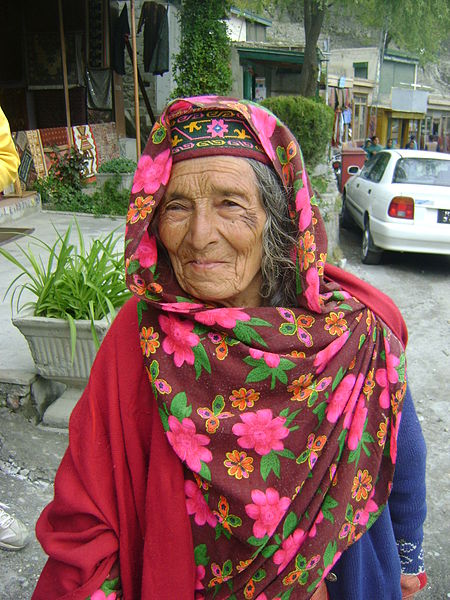 old woman living in hunza valley elevation altitude