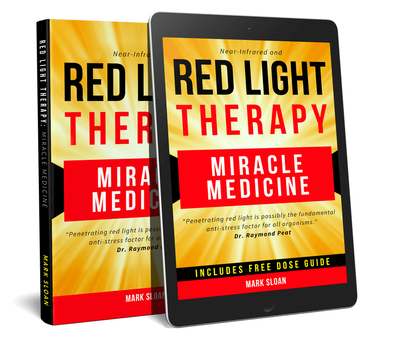 red light therapy miracle medicine 3d image