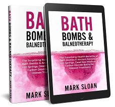 Bath bombs book 3d cover