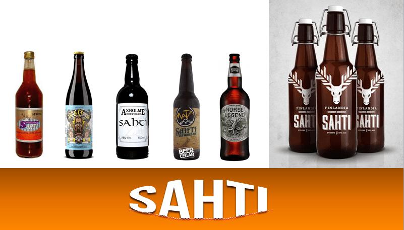 Sahti beer, hops and beer