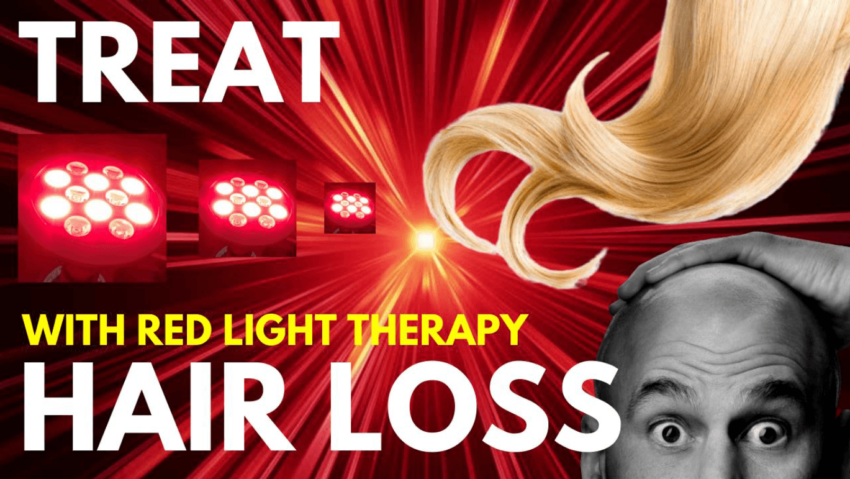 red light therapy hair loss and baldness