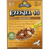 Ezekiel Sprouted Grain Cereal Almond
