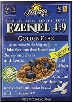 Organic Sprouted Grain Cereal – Golden Flax