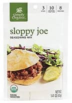 Organic Sloppy Joe