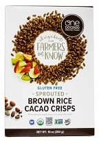 Organic Sprouted Rice Cocoa Crisps