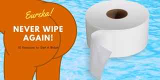 Toilet paper bidet never wipe again